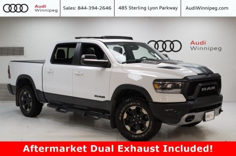 Pre-Owned 2019 Ram 1500 Rebel w/Sunroof & Tonneau Cover