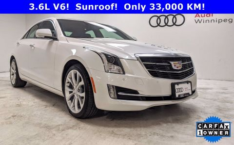 2018 Cadillac ATS Sedan Premium Luxury AWD *Low KM Local Trade*