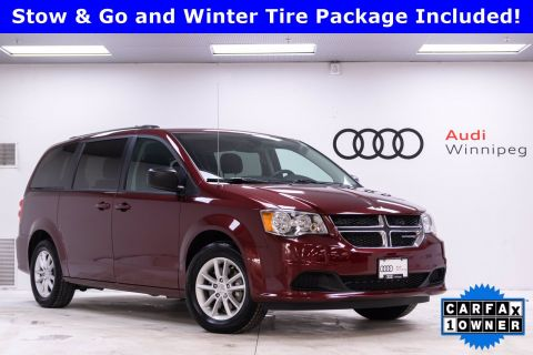 2019 Dodge Grand Caravan SXT w/DVD *Low KM - Winter Tires Included*