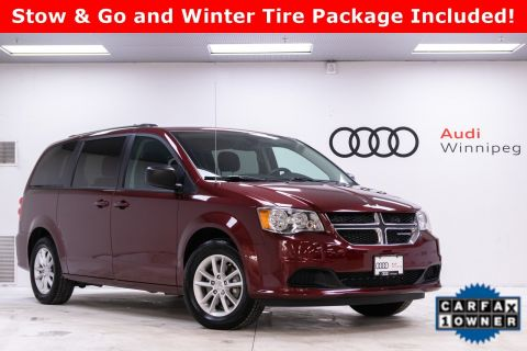 Pre-Owned 2019 Dodge Grand Caravan SXT w/DVD *Low KM - Winter Tires Included*