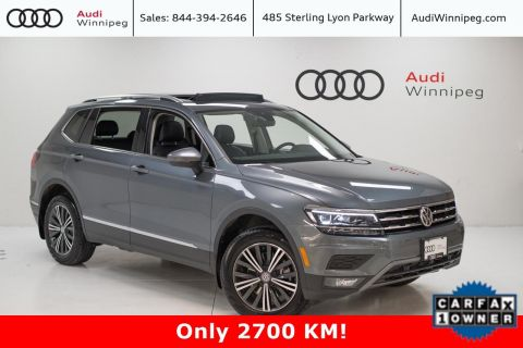 2019 Volkswagen Tiguan Highline w/Driver Assistance Package *Low KM*