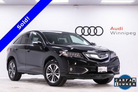 Pre-Owned 2017 Acura RDX *Local - Very Low KM* Elite Pkg