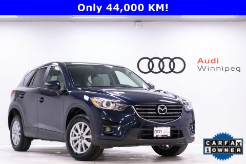 Pre-Owned 2016 Mazda CX-5 GS w/Leather & Sunroof *Low KM Local Trade*