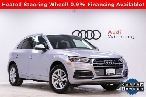 Pre-Owned 2019 Audi Q5 Komfort w/Convenience Package *Low KM*