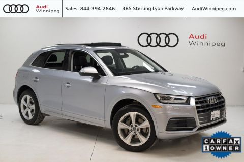 2018 Audi Q5 Progressiv w/LED Headlights *LOCAL TRADE*