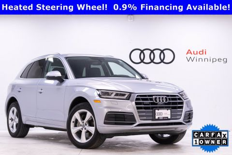 2018 Audi Q5 Progressiv w/Driver Assistance & LED Lights *Local Trade*