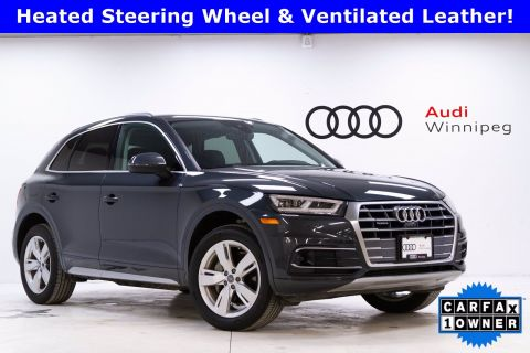 2018 Audi Q5 Technik w/Advanced Driver Assist & Comfort Interior Package
