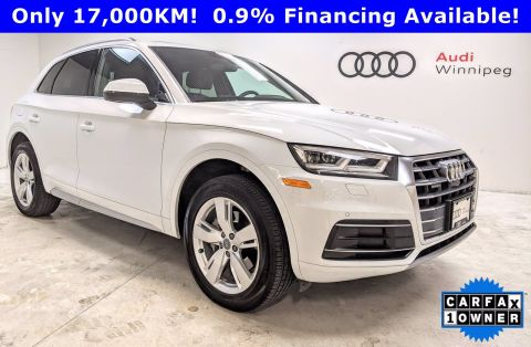 Pre-Owned 2019 Audi Q5 Technik *Low KM-Local Trade*