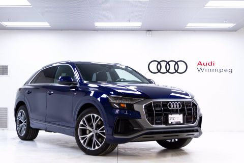 New 2020 Audi Q8 Technik