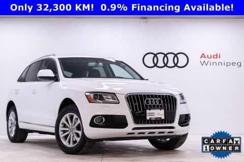 2016 Audi Q5 2.0T Progressiv w/Sunroof *Very Low KM*
