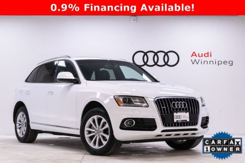 2017 Audi Q5 2.0T Progressiv w/Sunroof & Navigation *Local Trade*