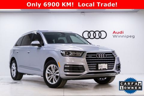 2019 Audi Q7 Progressiv w/Tow & Driver Assist Packages *Low KM!*