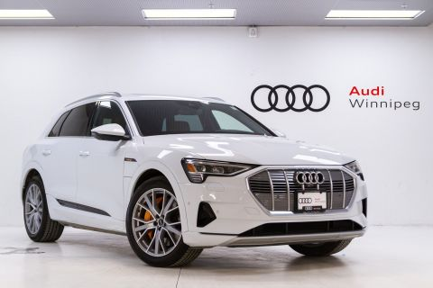 New 2019 Audi e-tron Technik