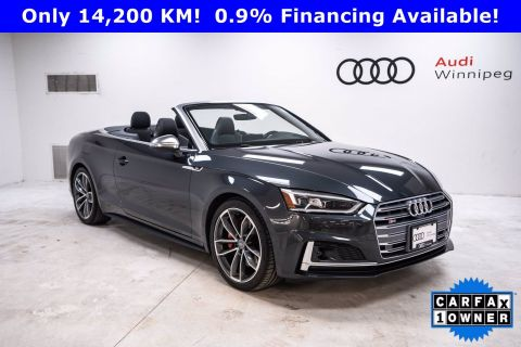 2018 Audi S5 Cabriolet Technik w/Dynamic Steering & Adaptive Suspension *LOCAL*
