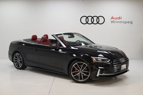 2018 Audi S5 Cabriolet Technik w/Dynamic Steering, Adv Driver Assist *DEMO*