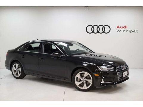 2019 Audi A4 Sedan Progressiv w/Driver Assistance *DEMO*