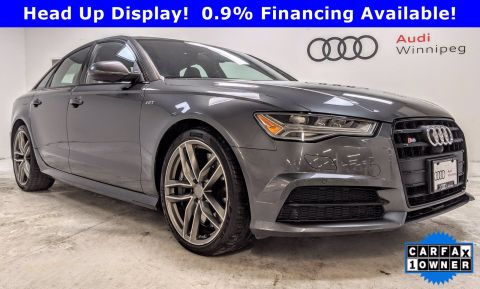 2016 Audi S6 w/Black Optics *Low KM - Local Trade*