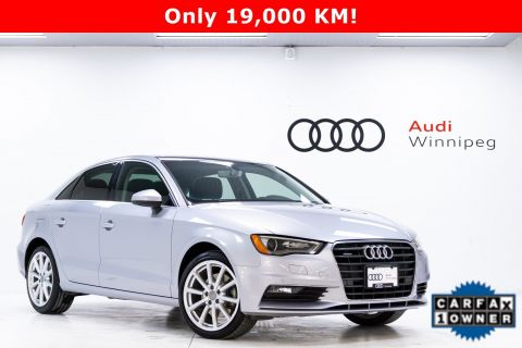 Pre-Owned 2016 Audi A3 2.0T Technik *Local - LOW KM!*