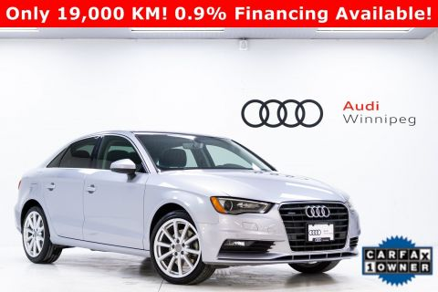 2016 Audi A3 2.0T Technik *Local - LOW KM!*