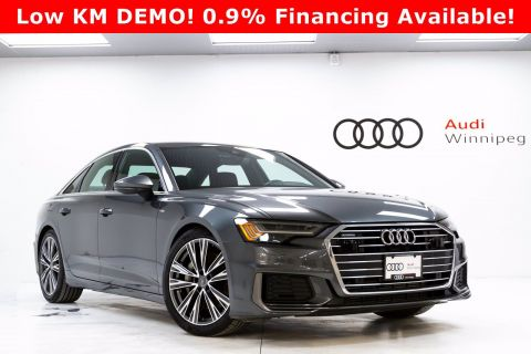 2019 Audi A6 Progressiv w/Driver Assist & Sport Package *DEMO*