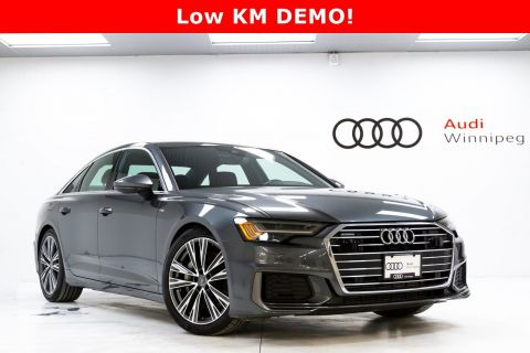 Pre-Owned 2019 Audi A6 Progressiv w/Driver Assist & Sport Package *DEMO*
