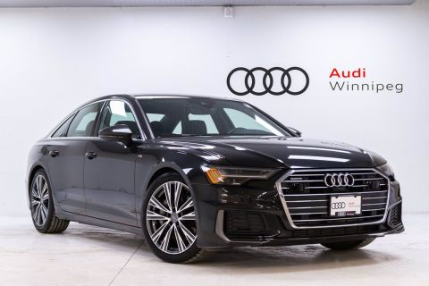 New 2019 Audi A6 Technik w/Sport & Driver Assistance Package *DEMO*
