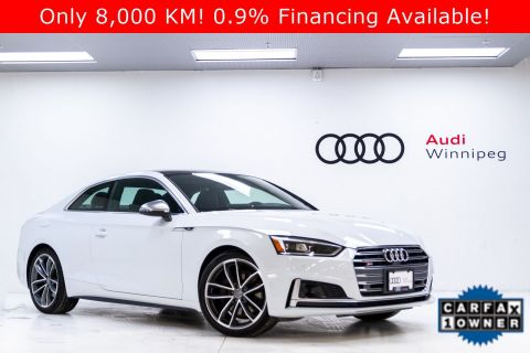 2018 Audi S5 Coupe Technik w/Dynamic Steering & Adv Driver Assistance *LOCAL*