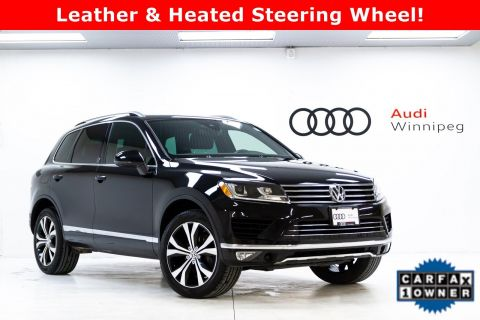 Pre-Owned 2017 Volkswagen Touareg Wolfsburg Edition *LOCAL TRADE*